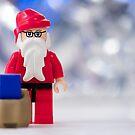 Lego Santa Claus by Kevin  Poulton - aka 'Sad Old Biker'