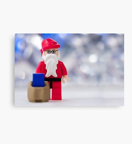 Lego Santa Claus Canvas Print