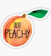Peachy Just Peachy Peach Laptop Fruit Tumblr Water Bottle Sticker
