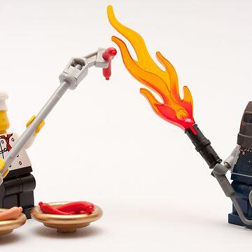 Extreme BBQ by SadOldBiker