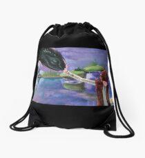 Forbidden Friendship Drawstring Bag