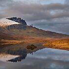 Old Man of Storr reflection.  Trotternish. Isle of Skye. Scotland. by PhotosEcosse