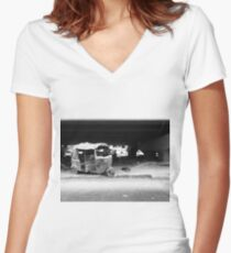 Old Tuk Women's Fitted V-Neck T-Shirt