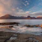 Elgol Sunset in November. Loch Scavaig. Isle of Skye. Scotland. by PhotosEcosse