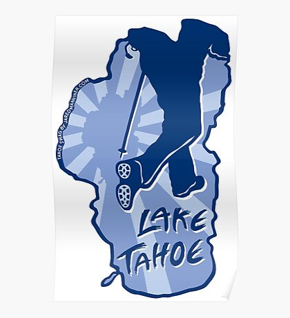 Hike Lake Tahoe Poster