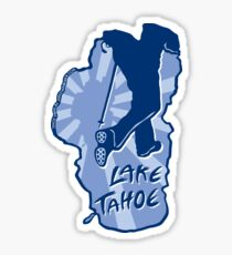 Hike Lake Tahoe Sticker