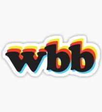 WBB Sticker