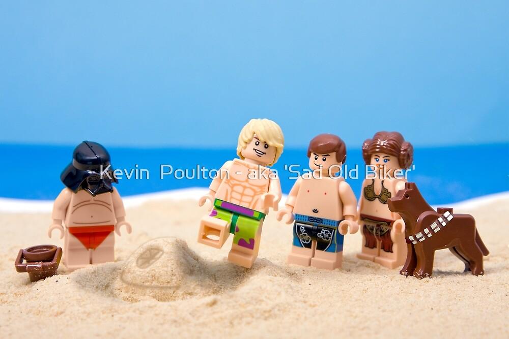 Vader's Sandcastle  by Kevin  Poulton - aka 'Sad Old Biker'