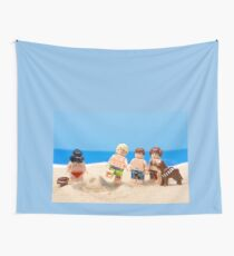 Vader's Sandcastle  Wall Tapestry