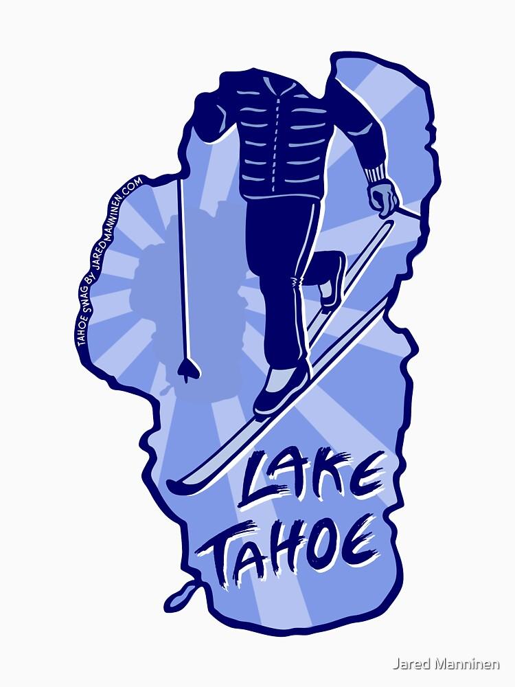 Cross-Country Ski Lake Tahoe by JaredManninen