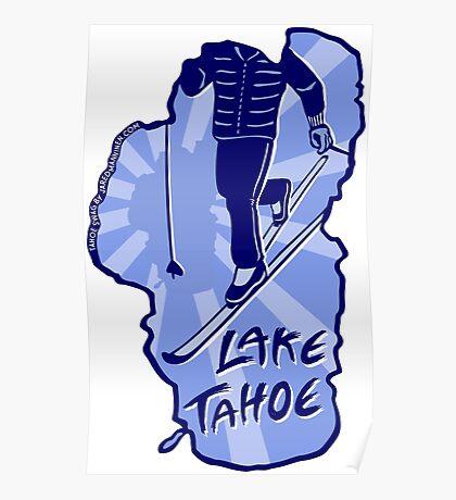 Cross-Country Ski Lake Tahoe Poster