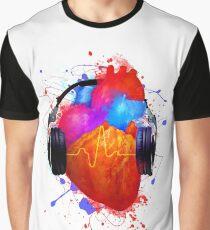 No Music - No Life Graphic T-Shirt
