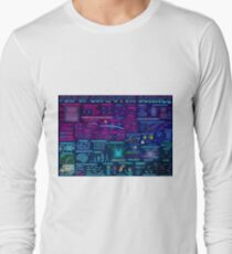 Map of Computer Science Long Sleeve T-Shirt