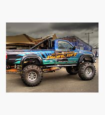 Offroad Racer Photographic Print