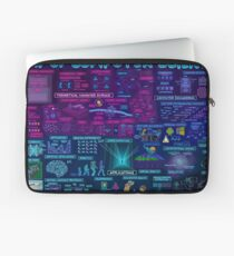 Map of Computer Science Laptop Sleeve