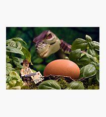 Lego T-Rex egg Photographic Print