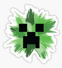 Creeper Minecraft Sticker