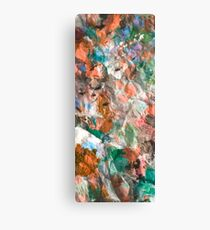 abstract wildflower meadow Canvas Print