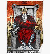 Tarot Gold Edition - Major Arcana - The Emperor Poster