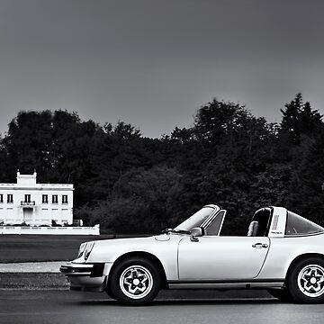 Porsche 911 Targa - Le Touquet by benbdprod