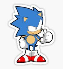 Classic Toei Sonic Mania Sticker