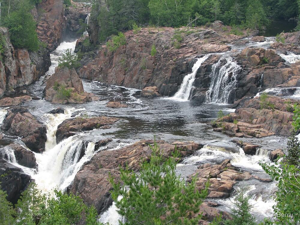 Aubrey Falls, Aubrey Falls, Ontario, Canada by ABerry