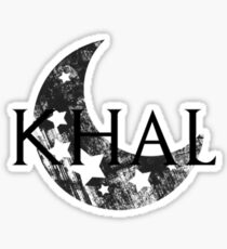 Khal Sticker