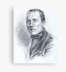 Olimpio Agostinis - Primo Gruppo Caccia Asso di Bastoni Canvas Print