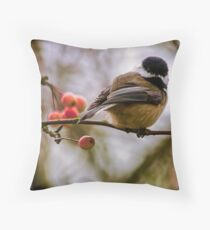 Relationships Are Like Birds Throw Pillow
