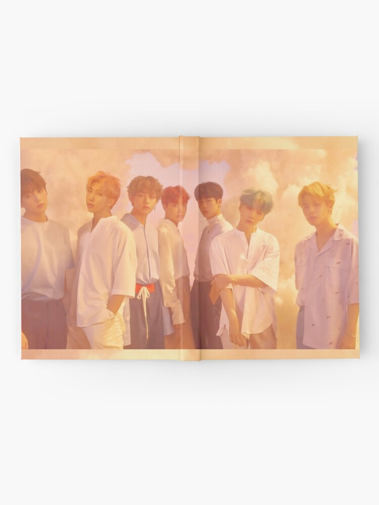 Alternate view of BTS Hardcover Journal