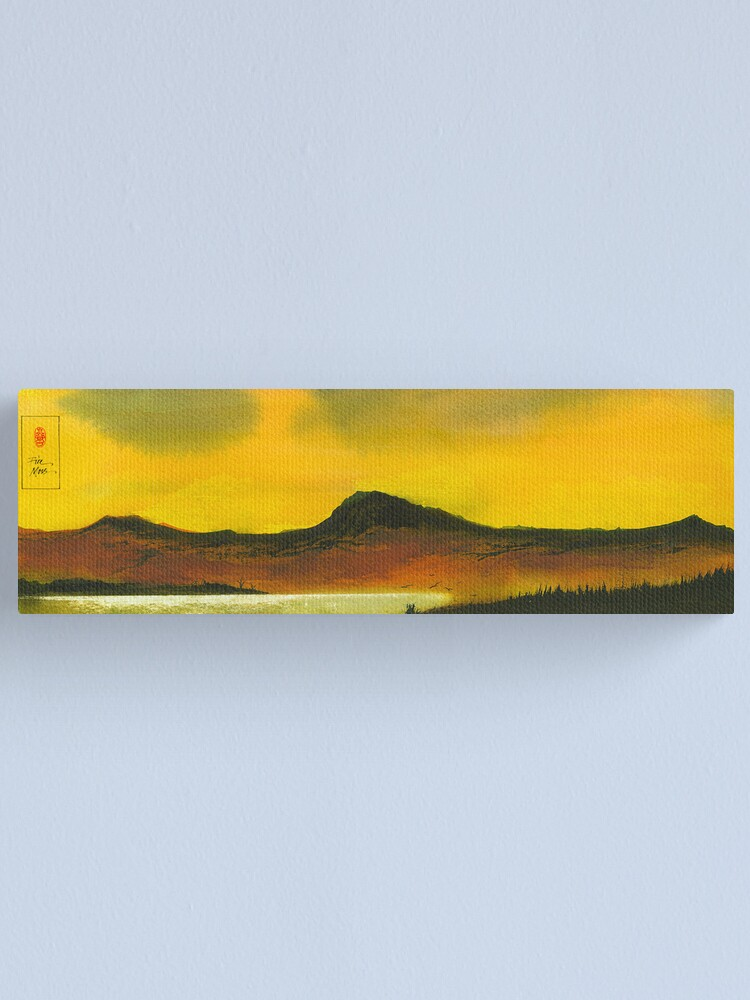 Alternate view of Yellow Sky Canvas Print
