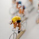 Cyclists 2 by Flo Smith