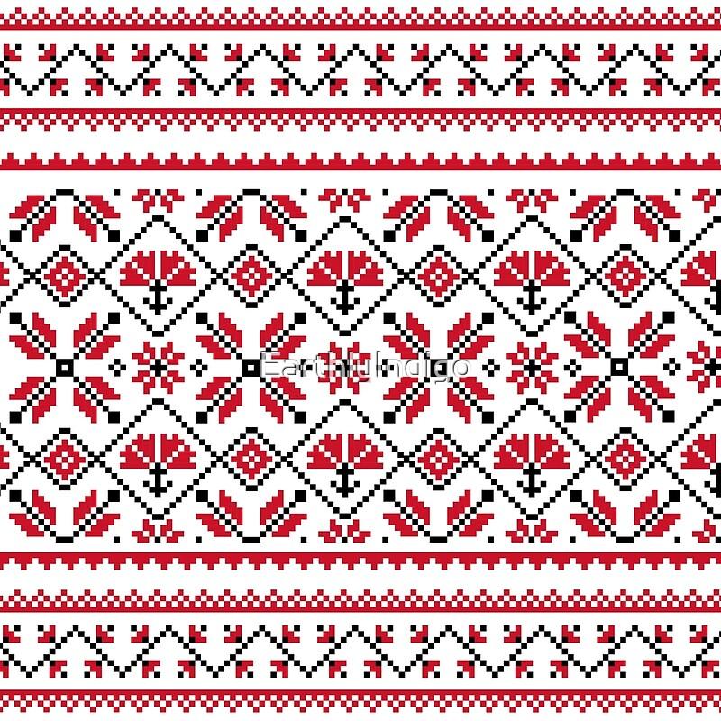 Ugly Christmas Sweater Pattern.Christmas Sweater Pattern Winter Ugly Christmas Sweater Art Print
