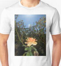 orange rose with ufo 09/01/17 T-Shirt