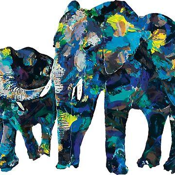 Elephant by MarkelArt
