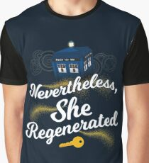 She Regenerated Graphic T-Shirt