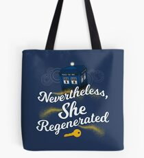 She Regenerated Tote Bag