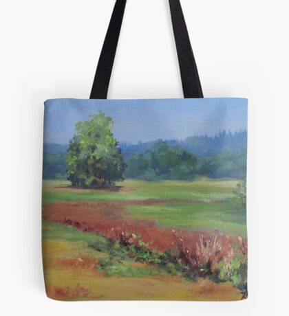 Summer Refuge Original Plein Air Painting Tote Bag
