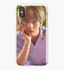 ANGELIC TAEHYUNG iPhone Case/Skin