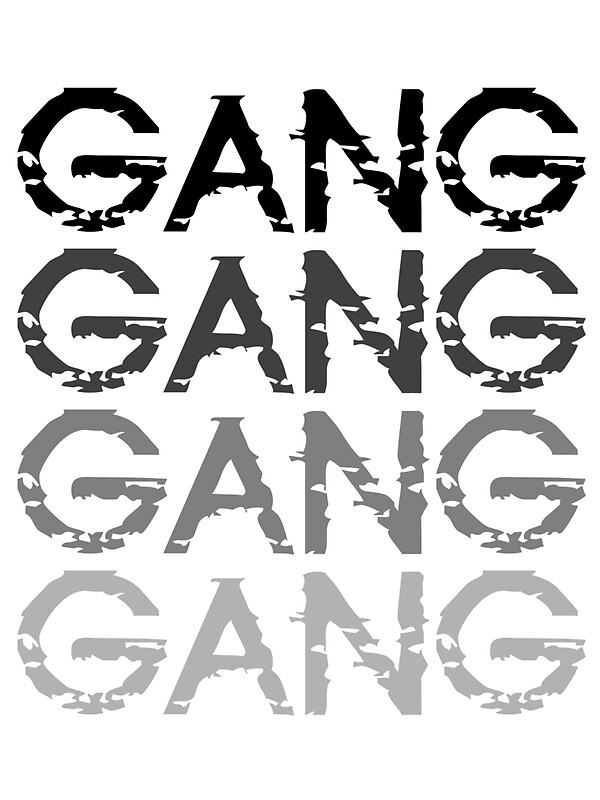 Chief keef gang gang gang stickers by nizo redbubble - Gang gang ...