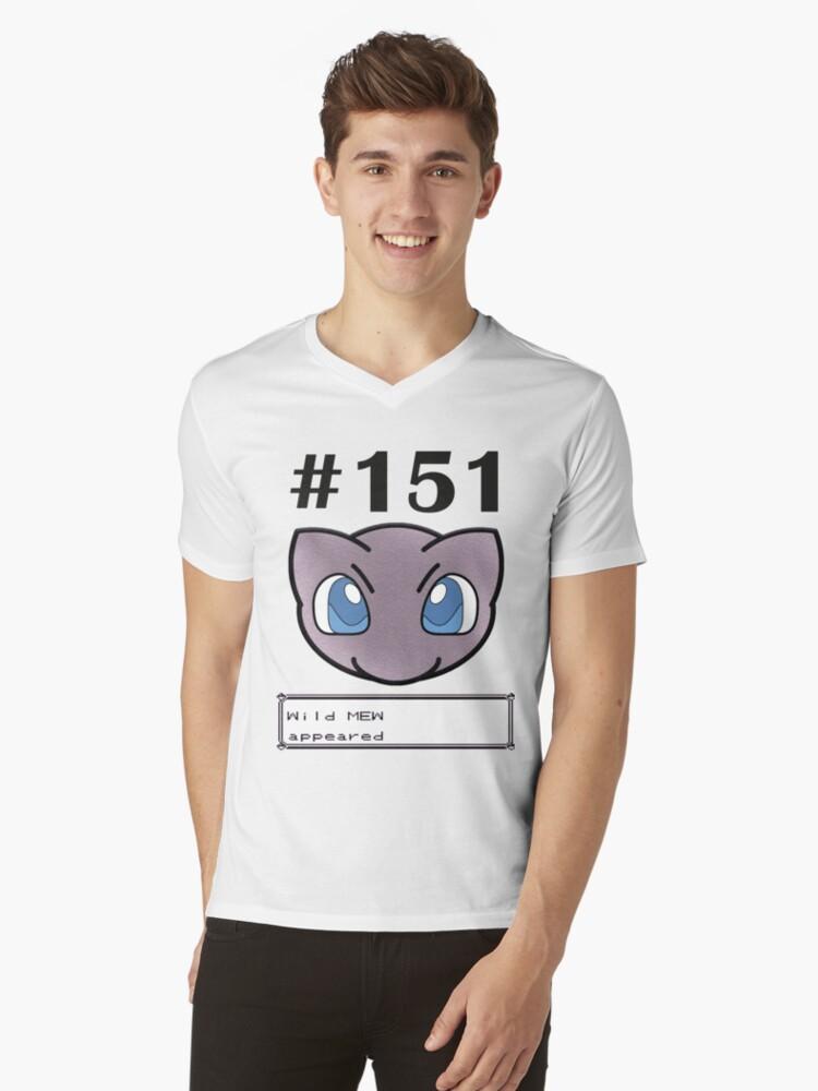 Wild encounter Mens V-Neck T-Shirt Front