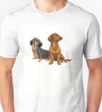 Camiseta unisex Dachshund Doxie Dogs