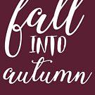 In den Herbst fallen von kjanedesigns