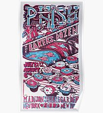 Phish Poster, July 21 - August 6 2017, Madison Square Garden  New York, NY Poster