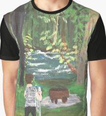 Der Künstler (Open Air # 1) Grafik T-Shirt