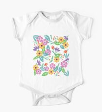 Colorful flower pattern Kids Clothes