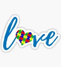 Autism Love Sticker