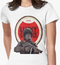 Ronald Speirs Cigarette  Womens Fitted T-Shirt