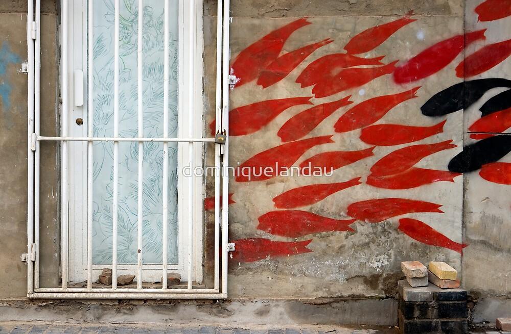 fish street graffiti by dominiquelandau