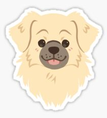 Tibetan spaniel (Sobel) Sticker